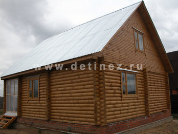 Фото 940 - дом из бревна
