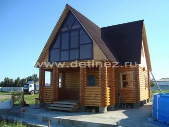 Фото 1120 - дом из бревна