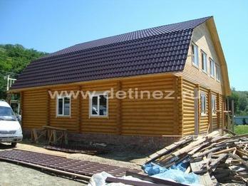 Фото 1121 - дом из бревна