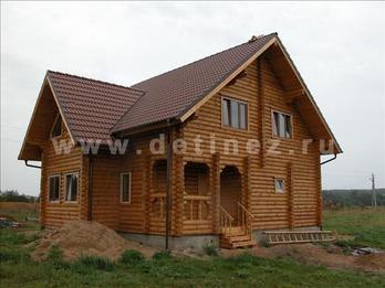Фото 25 - дом из бревна