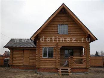 Фото 26 - дом из бревна