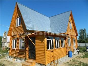 Фото 374 - дом 6х9 из бревна