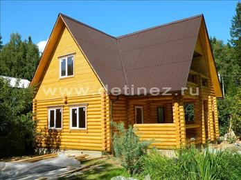 Фото 427 - дом из бревна