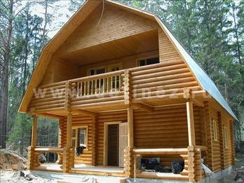 Фото 32 - дом из бревна
