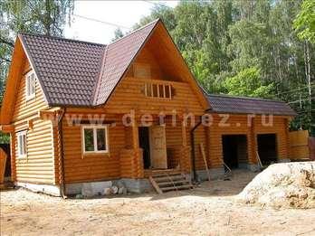 Фото 35 - дом из бревна