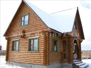 Фото 36 - дом из бревна