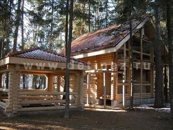 Фото 37 - дом из бревна
