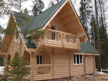 Фото 41 - дом из бревна