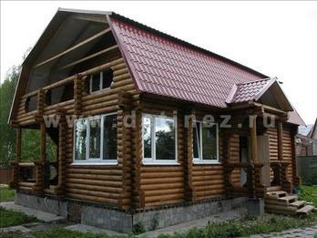 Фото 44 - дом из бревна