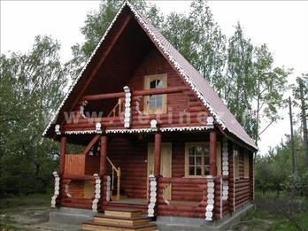 Фото 47 - дом из бревна