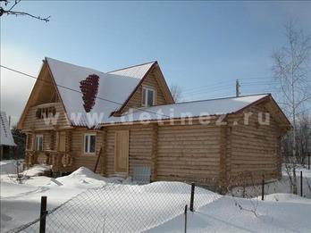 Фото 52 - дом из бревна