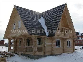 Фото 54 - дом из бревна
