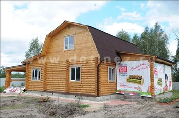 Фото 20 - дом из бревна