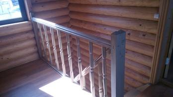 Деревянная лестница (фото 08)