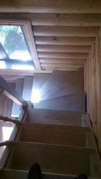 Деревянная лестница (фото 10)