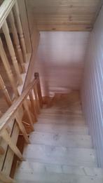 Деревянная лестница (фото 20)