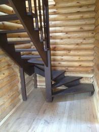 Деревянная лестница (фото 40)