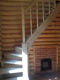 Деревянная лестница (фото 51)