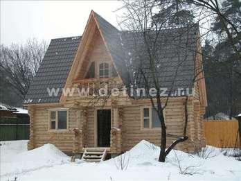 Фото 1031 - дом из бревна
