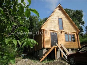 Фото 1038 - дом 6х6м из бревна