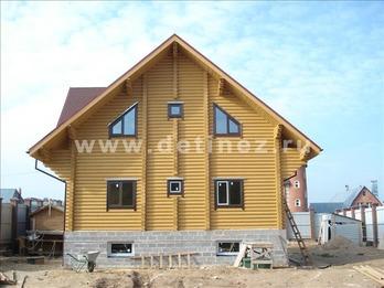 Фото 1041 - дом из бревна