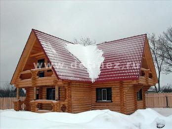 Фото 1050 - дом из бревна
