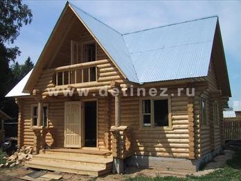 Фото 1067 - дом из бревна