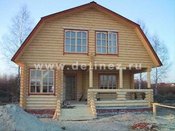 Фото 1068 - дом из бревна