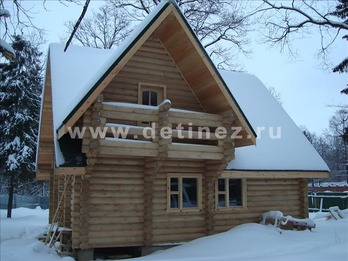 Фото 1073 - дом из бревна