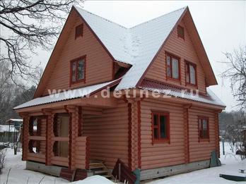 Фото 1076 - дом из бревна
