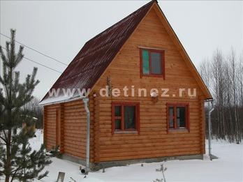 Фото 1077 - дом из бревна