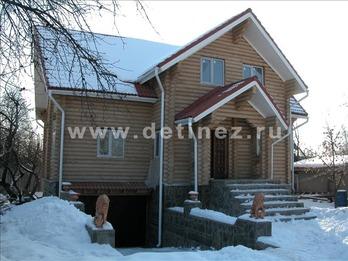 Фото 1078 - дом из бревна