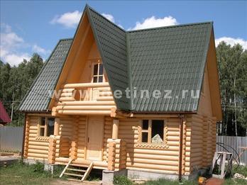 Фото 1083 - дом из бревна