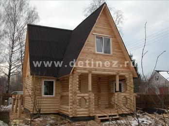 Фото 1084 - дом из бревна