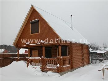 Фото 1092 - дом из бревна