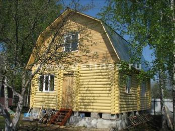 Фото 1094 - дом из бревна