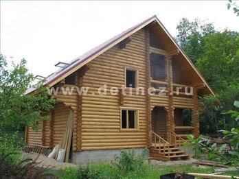 Фото 1096 - дом из бревна