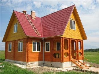 Фото 1101 - дом из бруса