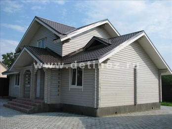 Фото 1102 - дом из бруса