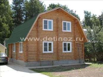Фото 1105 - дом из бревна 10х12м