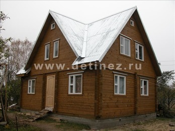 Фото 1107 - дом из бруса
