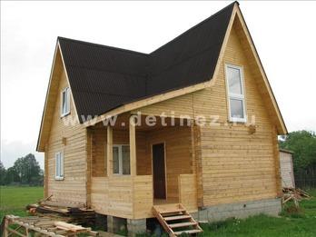 Фото 1110 - дом из бруса