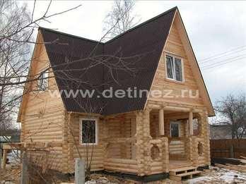 Фото 1113 - дом из бревна