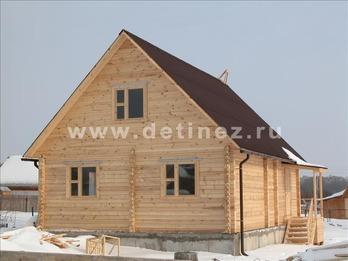 Фото 1114 - дом из бруса