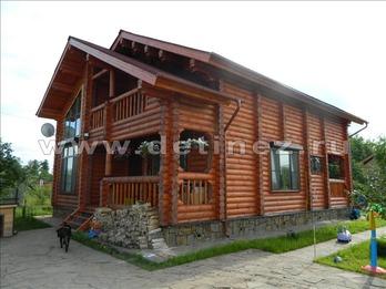 Фото 1141 - дом из бревна