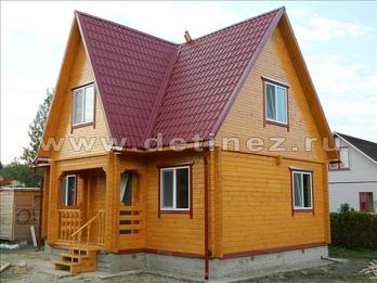 Фото 1146 - дом из бруса