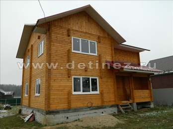 Фото 1165 - дом из бруса