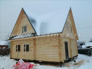 Фото 1183 - дом из бревна