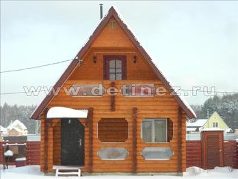 Фото 1191 - дом из бревна