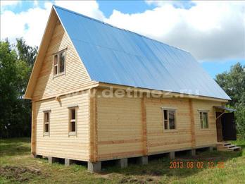 Фото 1221 - Дом из бруса 12х6м